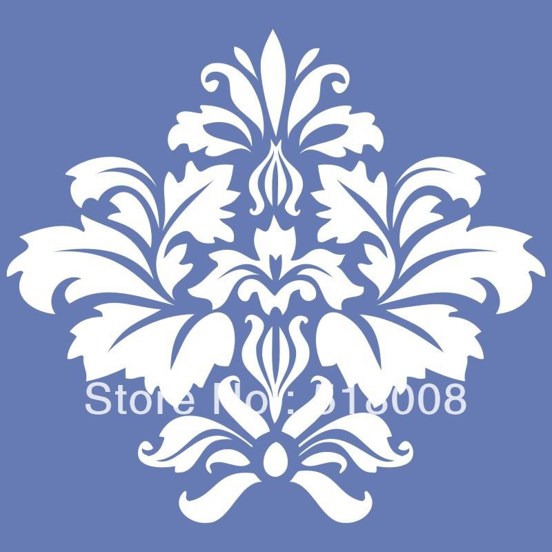 Flower Pattern Stencil