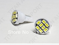 Free Shipping t10 8led  1206 car led light 194 168 192 W5W LED Light Auto Bulbs  Wedge Interior Light