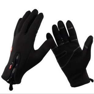 New 2013 Anti-slip Windproof winter Cycling Ski Bike Bicycle Full Long finger warm gloves M