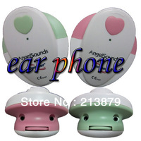 2013 new angelsound fetal monitor baby monitor pocket ultrasound  prenatal monitor pink or green color