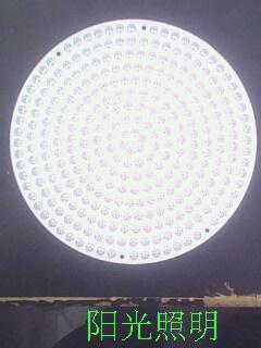 FR4 300 led pcb board / DIY led pcb / Diameter 160mm LED light board / led light circuit boards