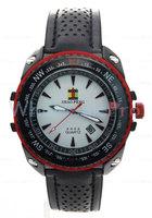 SHAO PENG Men's Quartz Calendar Black Genuine Leather Strap Water Resistant Stainless Steel Fashion Sports Watch Online