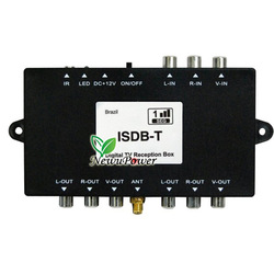 Car ISDB-T Digital TV HDTV Freeview Receiver Box Tuner for Argentina Brazil Peru(China (Mainland))