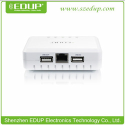 New EDUP 3G 11N wifi router/ Repeater/ AP and Power Bank with 5000mAh battery Wireless Partner(China (Mainland))