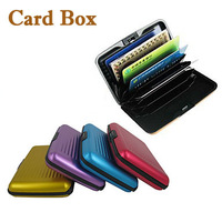 4X Aluminum Shell Lightweight Card & ID Holders