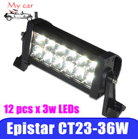"10"" 36W LED Light Bar,High Power light bar for exterior/square/outdoor/garden/stage lighting Spot or Flood"