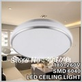 Modern ceiling lamp 9w acrylic lampshade SMD 6040 fashion+contracted design bedroom/sitting room/balcony lamp
