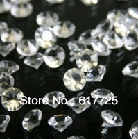 Stock! 20Packs/Lot, 10000Pcs/Pack DIAMONDS WEDDING TABLE SCATTER CRYSTALS,  DHL Free Shipping To UK/AU/US