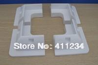 4PCS White ABS corner Solar mounting bracket For caravan,motorhome, boat, truck
