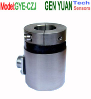 Web tension load cell force transducer