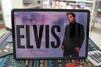 Wholesale and retail!Free shipping+12pcs/set iron painting(Elvis souvenirs)/bar adornment/Coffee shop paiting/ Christmas gift