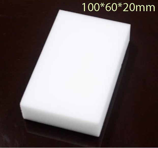 20pcs/lot Magic Melamine Sponge 100*60*20mm Cleaning Eraser Multi-functional Sponge Without Packing Bag(China (Mainland))