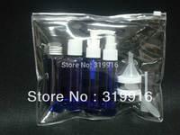 free shipping 10 in 1 travel set kit bottles on the line ,travel bottle set   10set/lot