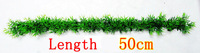 Length 50 cm 100% Brand New aquarium decoration For Artificial plants green grass  fish tank decoration
