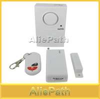 Newest Wireless Remote Control Magnetic Door Alarm System Security Home Car Security, Anti Lost Burglar Alarm