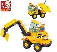 Free shipping! Sluban 24pcs/set Children's DIY educational MINI ROOTER  M38-B01119 block toys