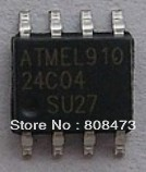 Chip AT24C04 memory serial EEPROM 2.7-5.5V 4K SOP-8 2-Wire Serial EEPROM