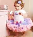Children&#39;s clothing female child baby T-shirt lace tulle dress bust skirt short-sleeve 5pics