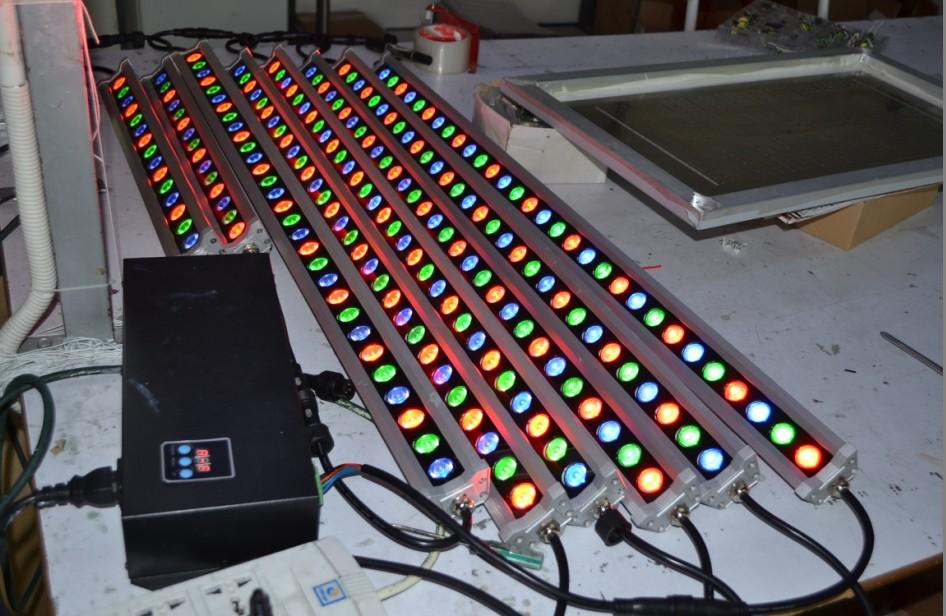 Ландшафтное освещение 48W RGB DMX sunlite 3 SAA ландшафтное освещение starlight 192pcs 0 8 ip65 stc 192 0 8 blue