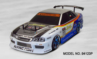 HSP 94123 Pro 1/10th scale 4WD on road drifting car +2.4G remote controller transmitter