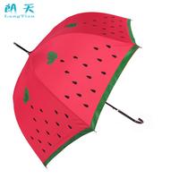 Poleaxe watermelon umbrella strawberry umbrella princess Vaulted lovely creative patterns clear umbrellas