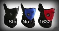 Free Shipping! Hot Thermal Neck Warmers Fleece Balaclavas CS Hat Headgear Winter Skiing Ear Windproof  Warm Face Mask 500 Pcs