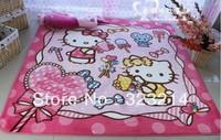 hot!!! Hello kitty pad / kitty carpet mat doormat  185*130cm