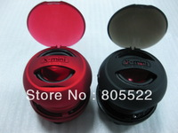 Wholesale 5pcs/lot hamburger mini Capsule speakers for MP3/MP4/IPHONE/IPOD/PC DHL  free shipping