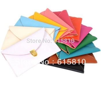 Korea Style Womens Envelope Clutch Chain Purse HandBag Shoulder Bag fashion Wallet 2014 for women ladies(HB024)