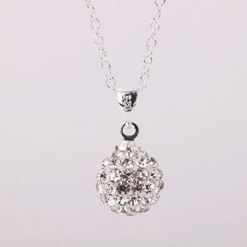 Shambhala Rhinestone Crystal Fashion Jewelry Shamballa Necklace Shambala Balls Bead Necklaces P012