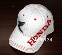 2013 quality goods embroidery hat Honda racing cap hat man's cool odd baseball cap cap too racing cap