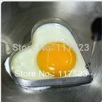 Free Shipping Stainless Steel Fried Eggs Mold Heart Shape Egg Omelette Tool