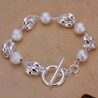 2013 wholesale Free shipping Fashion Chain Bracelet Health Care 925 Silver-plated Bracelets Jewelry H247