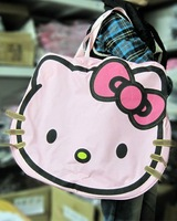 3 color Super Big Hello Kitty Women Girl Fashion Shoulder Tote Shopping Travel Luggage Bag Leisure Handbag Korea style 4 Colors