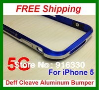 For iPhone 5/5S DRACO V Aluminum Case / Bumper Deff Cleave Aluminum Bumper Case With Retail Packaging Box
