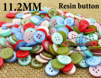 200PCS 11.2MM kid's buttons shirt button for garments kids sewing crafts cloth for sewing  R-047