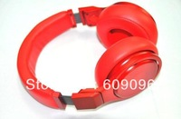 Wholesale 2013 New Arrival Full red Pro DJ Headphones Best Quality Studio Headphone Noise Cancelling drop shipping Freeshipping