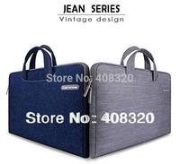 "Cartinoe Jeans Series Laptop Sleeve Case Bag For Macbook Air/Pro 11.6"" 13.3"" 15.4"", Laptop Handbag For Macbook, Free Shipping"