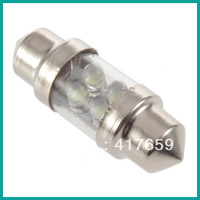 10pcs 31mm 4 White LED 3021 DE3175 Car Interior Dome Festoon Reading Light Lamp Bulb Wholesale