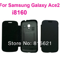 For Samsung Galaxy S3 Mini i8190/S4 mini I9190 back cover flip leather case,3pcs/lot(1case+1protector+1stylus),free shipping