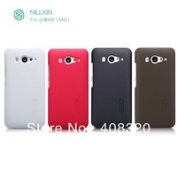 Original NillKin Superior Ultra-thin Plastic Shield case for XiaoMi M2 cover with free protector, Free shipping