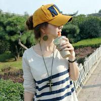 Nyc male women's baseball cap lovers spring summer outdoor Women sun-shading cap ,Free shipping