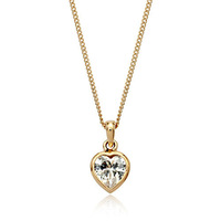 18K White/Rose Gold Plated Fashion Pendant Necklace Top Quality Austria Crystal Exquisite Jewelry 1662534