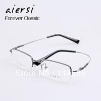 Top Quality-Brand New Fashion Titanium alloy memory titanium eye box non-mainstream myopia eyeglasses frame Men vintage glasses