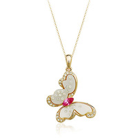 18K White/Rose Gold Plated Fashion Butterfly Pendant Necklace Top Quality Austria Crystal Exquisite Jewelry 1662488