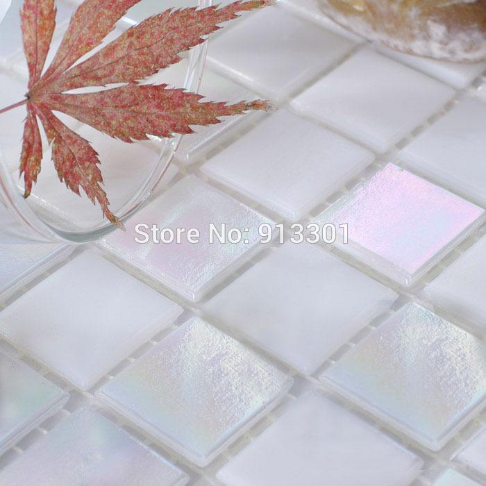 Vitreous Glass Tile Backsplash Cheap Crystal Mosaic Tiles Mirror Kitchen Back