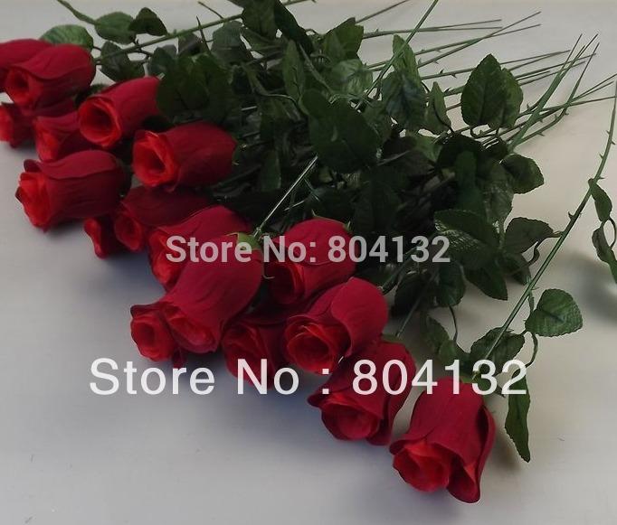 """30pcs RED 45cm / 17.72 """" Artificial Simulação Camellia Rose Flower uma hastes / arbusto Flor Cabeça decorações do casamento(China (Mainland))"""