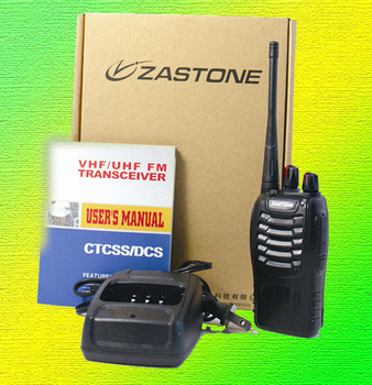 cheapest UHF 400-470MHz two way radio ZASTONE 5WATTES ZT-V68 walkie talkie free shipping