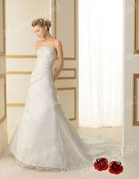 New Arrival Wedding Dresses Sweetheart Satin Wedding Gown Floor Length 2013