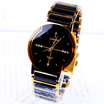 Fashion rhinestone exquisite gift male watch commercial table 158966
